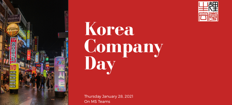 Korea Company Day